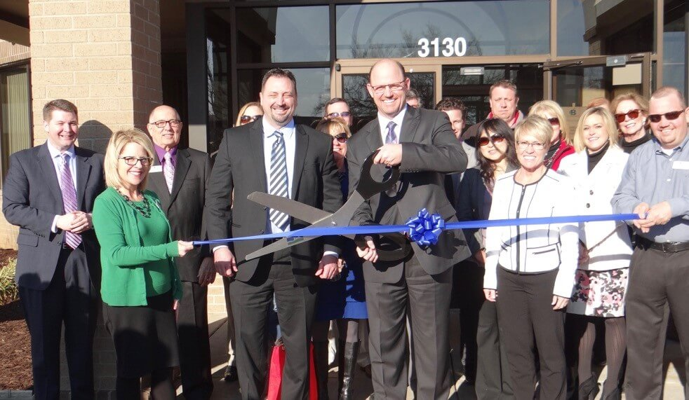Bancsource banking equipment sales and maintenance services ribbon cutting new headquarters Springfield Missouri